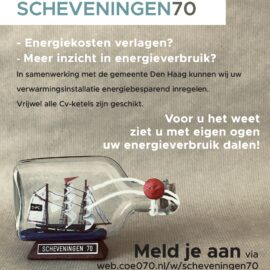 Scheveningen70 verduurzaam-actie